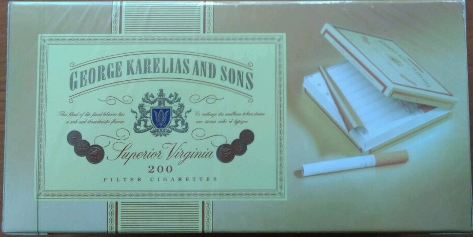 Сигареты оптом George Karelias and Sons Superior Virginia